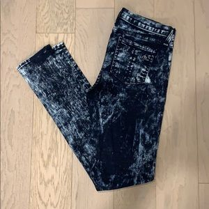 NWOT Rag & Bone Jean Size 27 Acid Wash